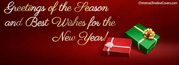 greetings of the season and best wishes new year cover