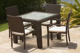 White Patio Dining Table And Chairs Exterior Design Elegant Outdoor Dining Furniture Design With Cozy