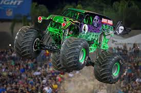 monster truck jam anaheim funky polkadot giraffe monster jam returns to angel stadium of