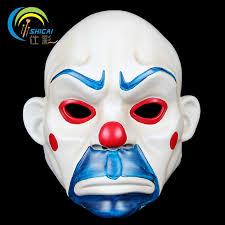 Heath Ledger Halloween Costume Aliexpress Buy Batman Joker Clown Bank Robber Resin