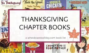 thanksgiving chapter books for