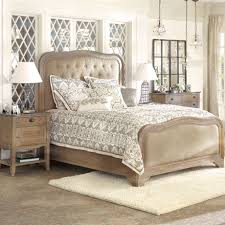 Brass Bedroom Furniture by Belmont King Bed With Brass Hardware Arhaus Furniture Bedroom