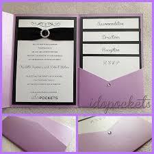 marriage invitation sle wedding pocket invitations marialonghi
