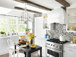 Kitchen Wallpaper Designs Ideas by A Small Kitchen With Big Decorating Ideas Hgtv