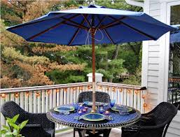 Patio Set Umbrella Patio Furniture Umbrella Backyard Landscape Design
