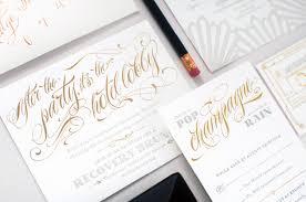 hip hop regency wedding invitations