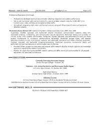 Resume Format For Computer Science Engineering Students Freshers Sample Resume Computer Engineer Useful Materials For Computer