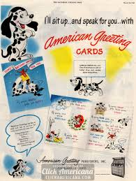 vintage birthday cards from american greetings 1946 click