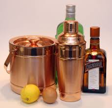 martini shaker set the institute for alcoholic experimentation bar tools is copper