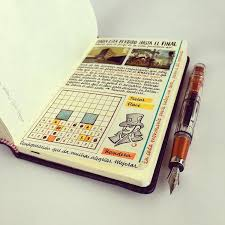 Artist fills traveler 39 s notebook with intimate visual diary