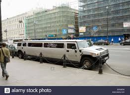 hummer limousine hummer limousine st petersburg russia stock photo royalty free