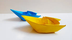 easy origami boat paper boat making instructions step by step
