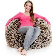 37 cheetah bean bag leopard print extra large bean bags leopard