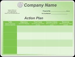 3 action plan templates excel u0026 word templates