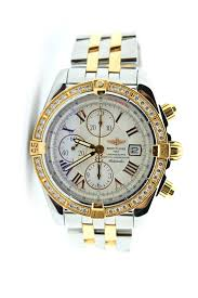 bentley breitling diamond breitling chronomat evolution c13356 howard frum jewelers