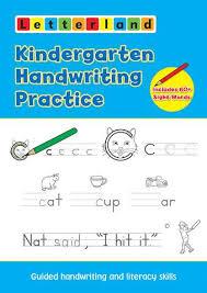 kindergarten handwriting practice u2013 letterland usa