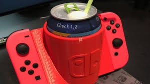 Design Your Own Home Game 3d You Can 3d Print Your Very Own Nintendo Switch Cup Holder With