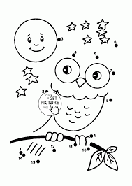 halloween dot coloring pages kids connect dots