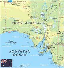Map Of South Map Of South Australia Australia Map In The Atlas Of The World
