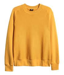 Yellow Mustard Color H U0026m Sweatshirt In Yellow For Men Lyst