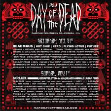 festival hard day of the dead u2013 los angeles calif tickets and