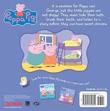 bedtime peppa peppa pig scholastic eone 9780545842310
