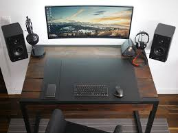 Gaming Desk Minimalistic Wooden Gaming Desk For Your Room