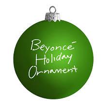 green satin ornament beyonce