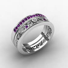 amethyst rings poe images Best amethyst eternity ring products on wanelo jpg