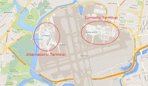 Nashville Airport Map Sydney Airport Map Map Of Sydney Airport Australia