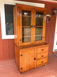 Heywood Wakefield Corner Cabinet Clarks General Merchandise Vintage U0026 Antique Furniture U0026 More