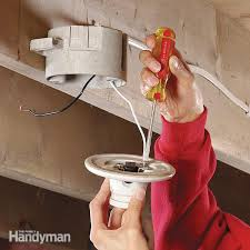 turn light socket into outlet how to replace a pull chain light fixture family handyman
