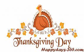thanksgiving day november monthly calendar 2017