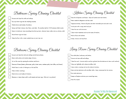 clean bedroom checklist lazy girl s spring cleaning checklist free printable