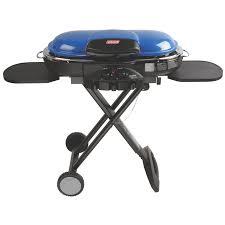 coleman roadtrip lxe propane grill blue