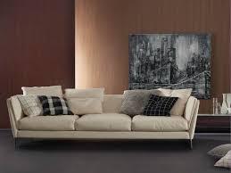 canapé poltrona frau bretagne 3 seater sofa by poltrona frau ff e sofa chaise