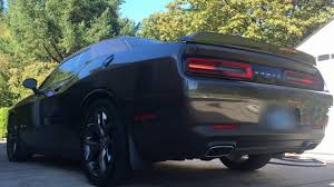 dodge challenger se vs sxt dodge challenger sxt performance exhaust vs stock