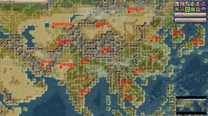 Asia Map Game by Badess World Map Scenraio Mod For And Civfanatics Forums