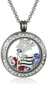 charm locket necklace charms images Charmed lockets swarovski crystal americana floating jpg