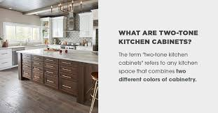 how to choose kitchen cabinets color everything you need to about two tone kitchen cabinets