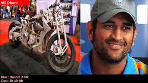 hellcat x132 dhoni 10 most expensive celebrity bikes in india 2017 youtube