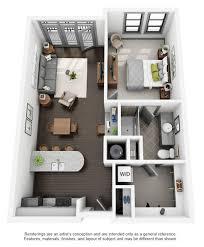 Floor Plan Of 3 Bedroom Flat Studio 1 2 U0026 3 Bedroom Apartments In Chapel Hill Nc Chapel