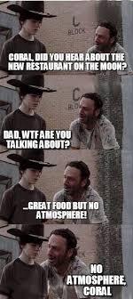 Carl Walking Dead Meme - coral walking dead memes rick dick grimes coral meme collection