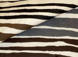 Maroon Upholstery Fabric Urban Stripes Upholstery Fabric In Brown Black U0026 Gray