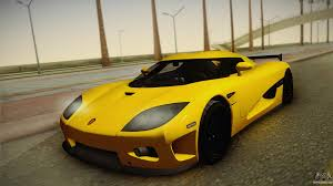 koenigsegg winter koenigsegg ccxr for gta san andreas