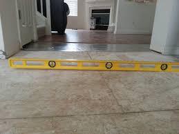 leveling wood subfloor for laminate wood floors