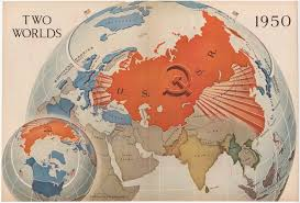 Worlds Map by Two Worlds Cornell University Library Digital Collections