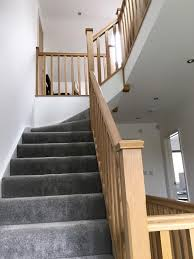 Handrails And Banisters Best 25 Oak Handrail Ideas On Pinterest Glass Stair Railing