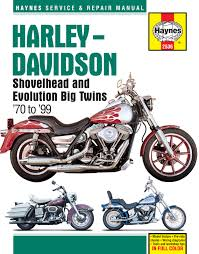 harley davidson shovelhead and evolution big twins 1970 1999