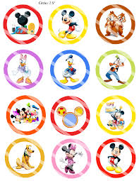 mickey mouse clubhouse birthday invites mickey mouse clubhouse toppers 2 99 disney mickey mouse